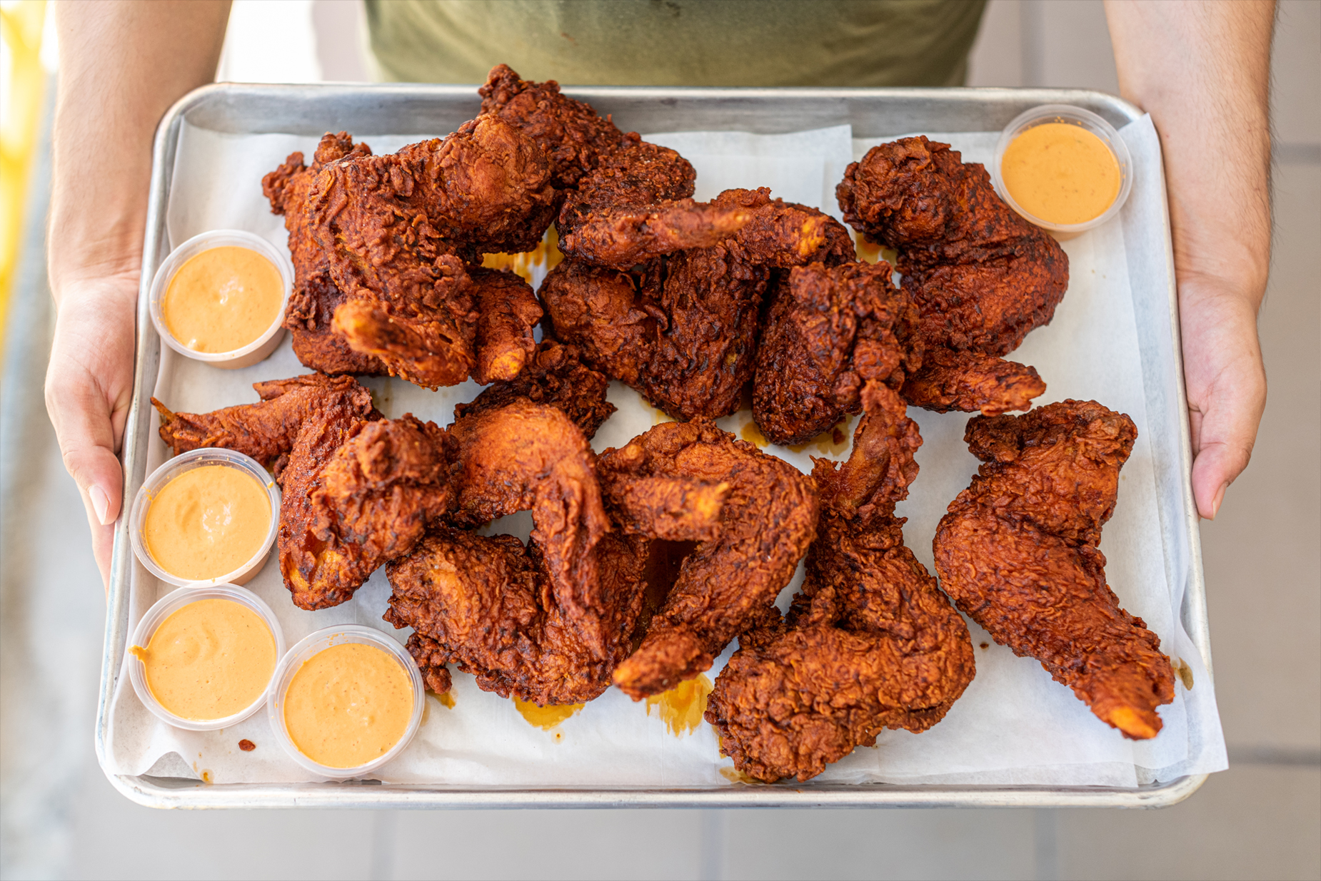 Plate of Whole Wings