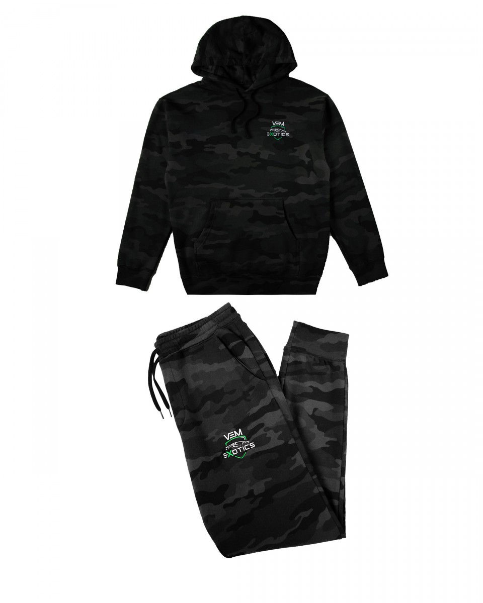 Buy VEM Sweats + Hoodie Combo (Camouflage)