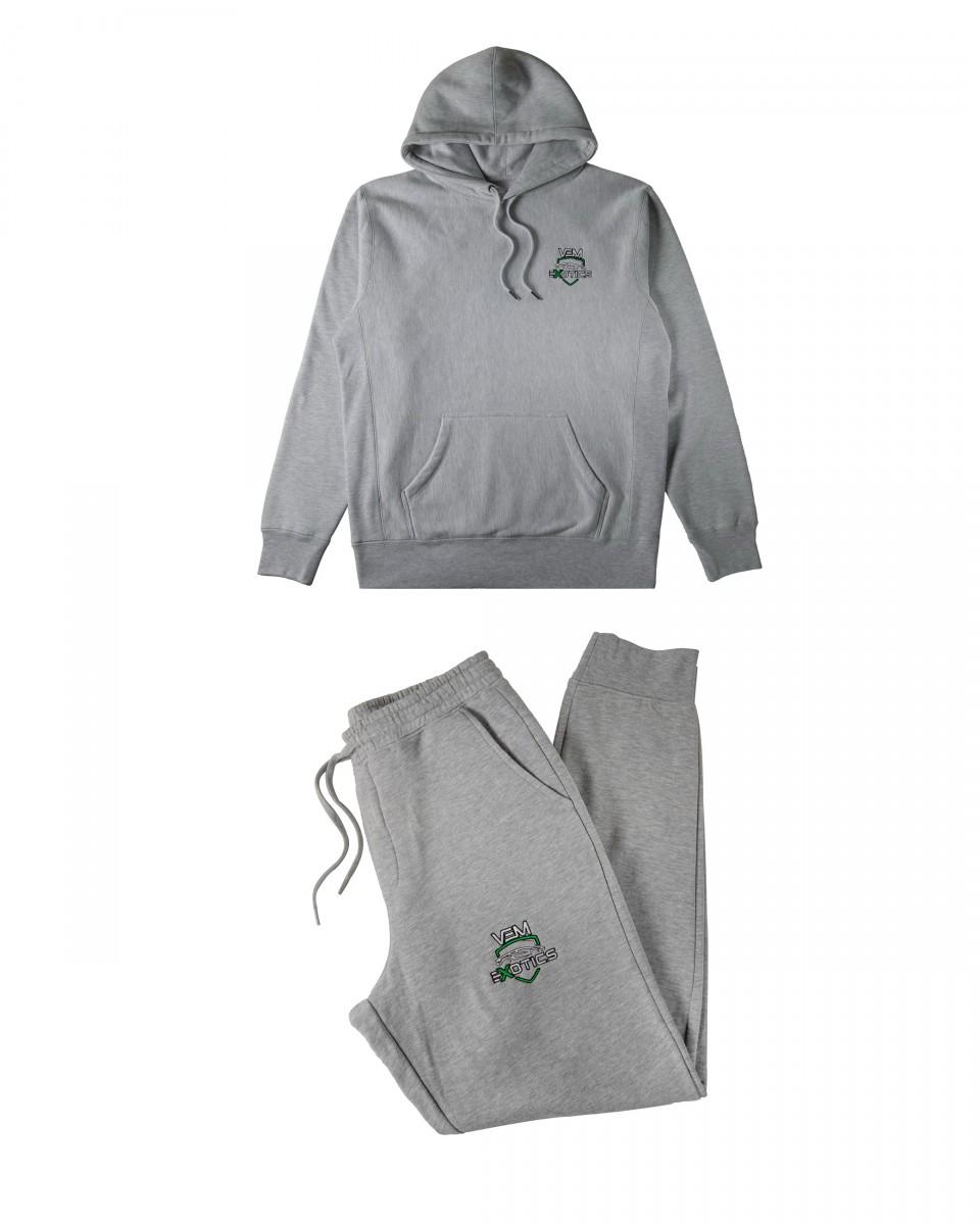 Buy VEM Sweats + Hoodie Combo (Grey)